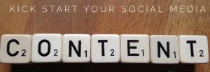 kickstart social media content 2018