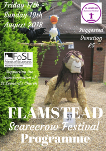 scarecrow fest programme image